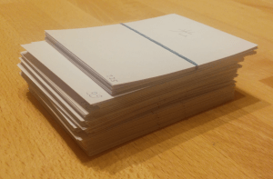 Just 128 kanji can turn into a mountain of flashcards